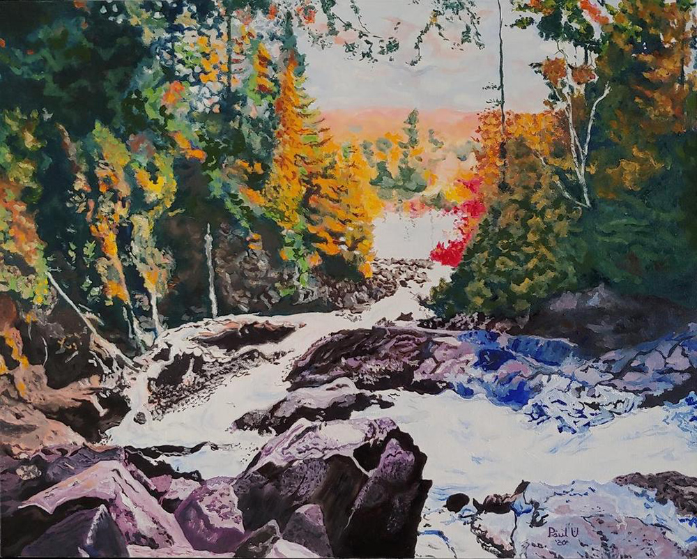 Paul Uptigrove Ragged Falls