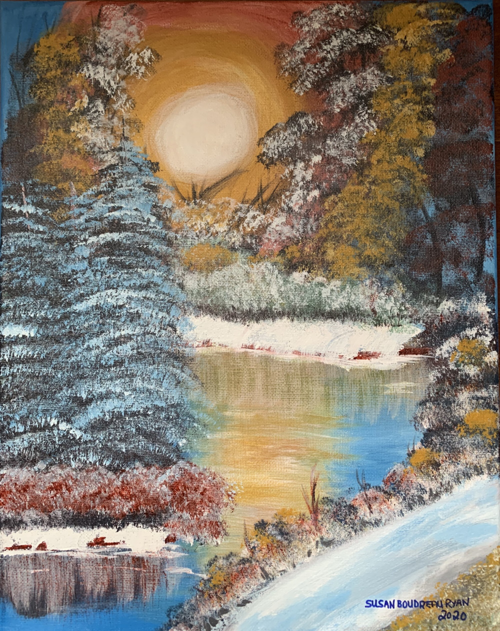 Susan Boudreau Ryan WInter Sunset