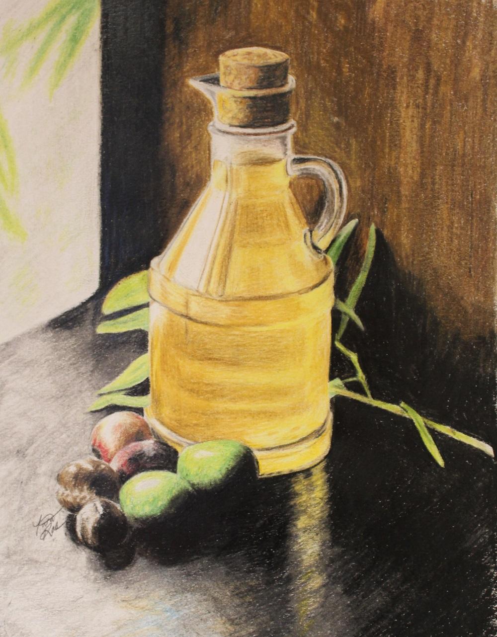 Tina Rae - Olive Oil Still Life