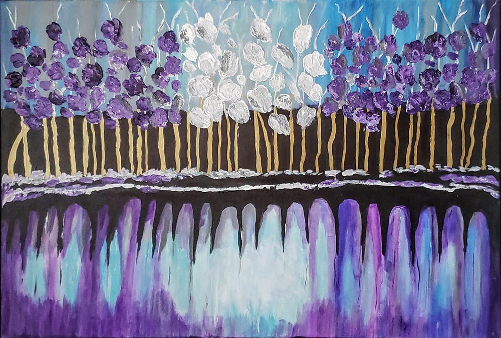 Carolyn Crowe Lavender Blue