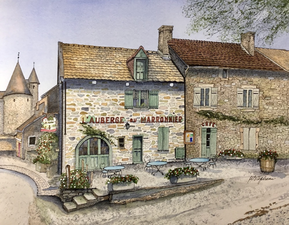 Bill Stephens L'Auberge du Marronnier