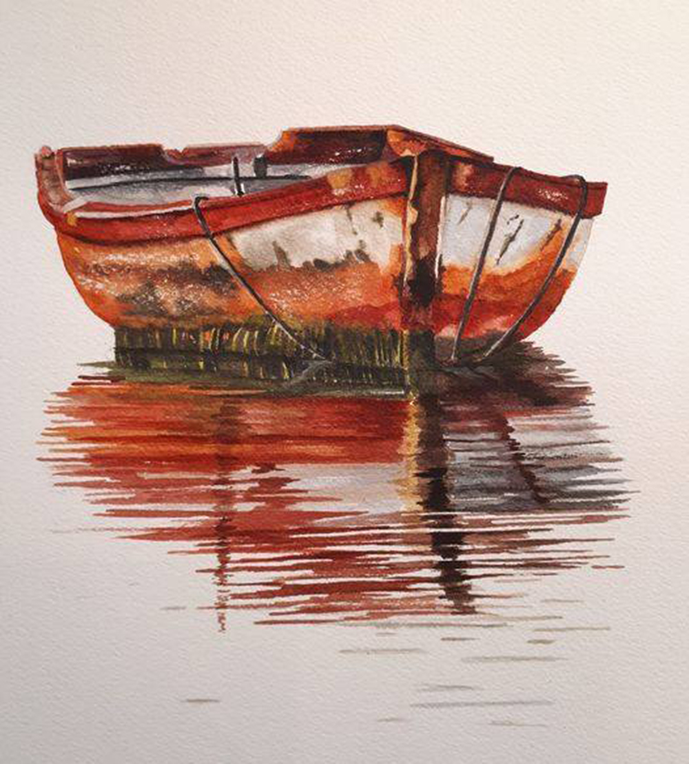 Old Red Boat Wendy Jennings