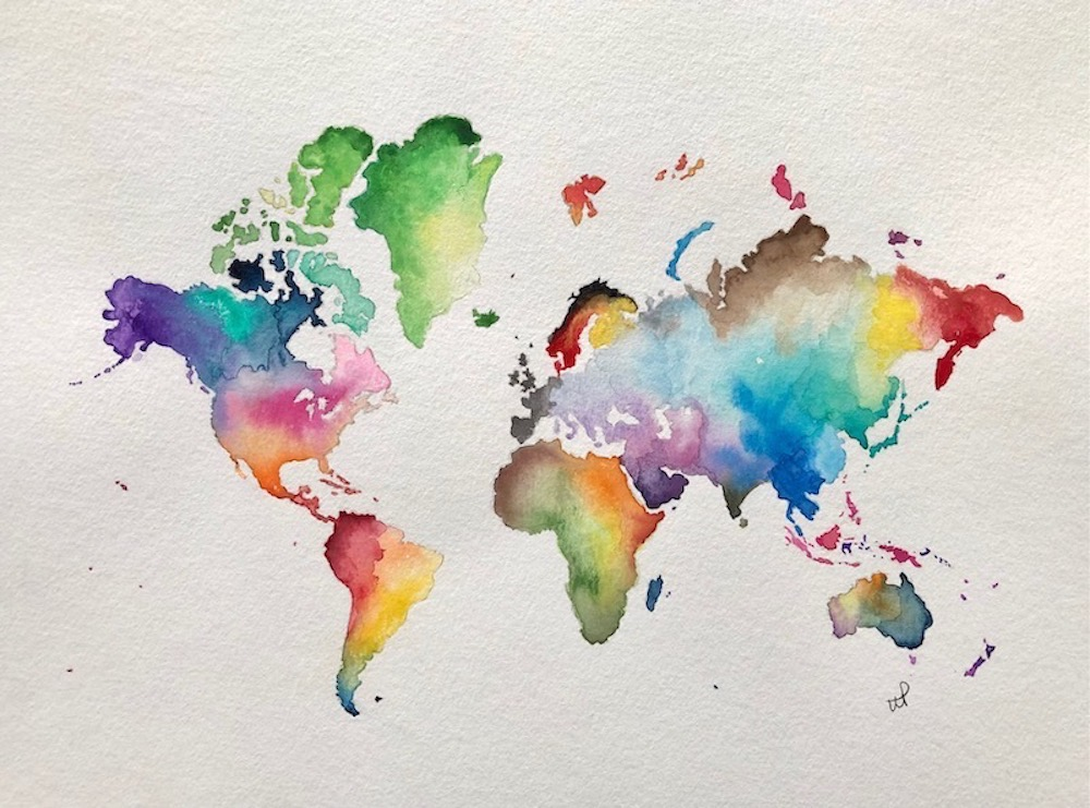 What a Colourful World by Wendy Pulham