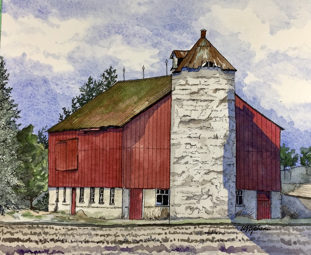 Bill Stephens - Belmont Area Barn