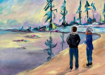 Lake Tahoe Tourists
