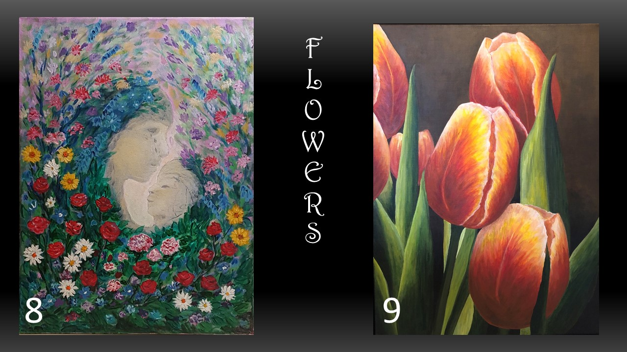 8. By Therese Grawey 9. By Tina Kalo (1st place)