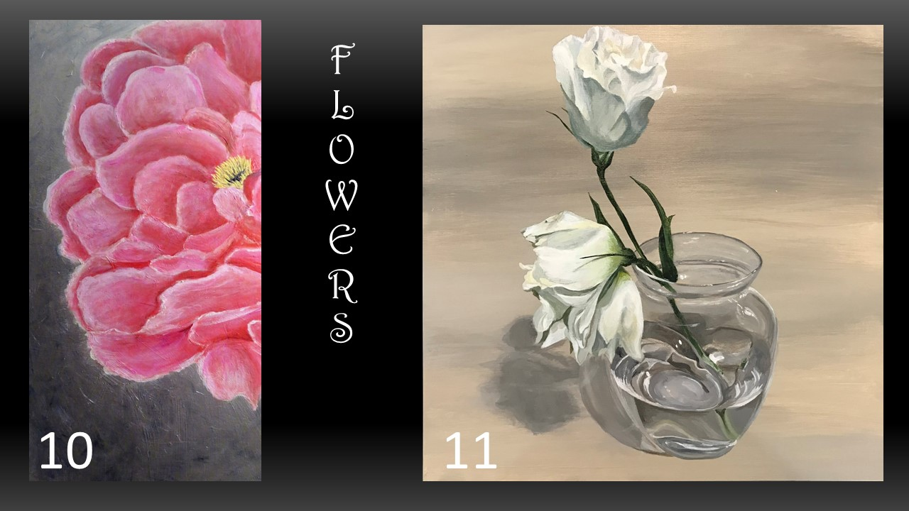 10. By Dianne Fleming 11. By Lisa Chiborak (Voted 2nd)