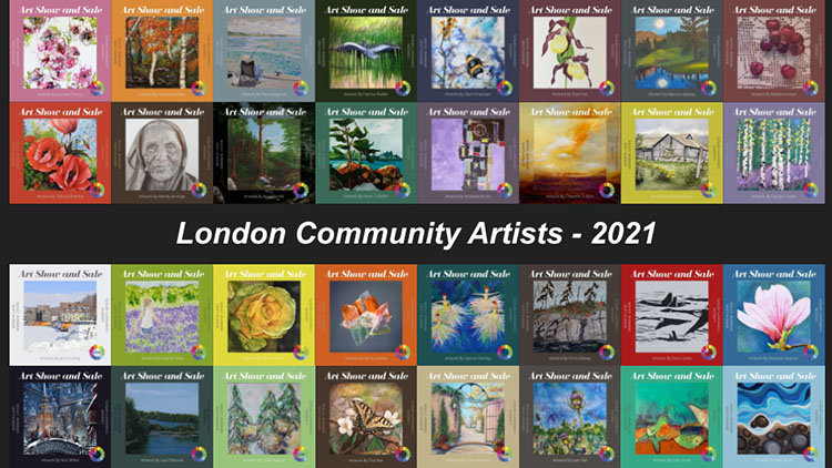 London Community Artists Art Show Sampler 2021